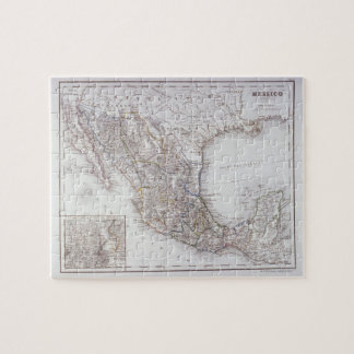 Map of Mexico 2 Jigsaw Puzzle