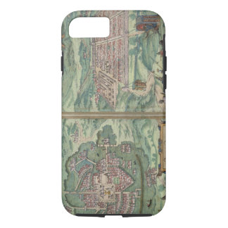 Map of Mexico and Cuzco, from 'Civitates Orbis Ter iPhone 7 Case
