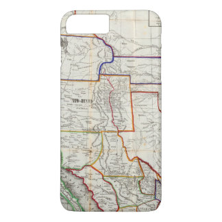 Map Of Mexico & California iPhone 7 Plus Case