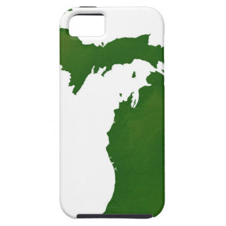Map of Michigan iPhone 5 Covers