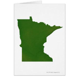 Map of Minnesota 2 Card