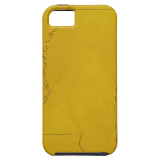 Map of Mississippi iPhone 5 Case