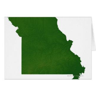 Map of Missouri Card