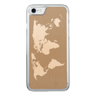 Map of My World - Carved iPhone 7 Case