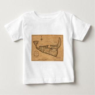 Map of Nantucket 1782 Baby T-Shirt