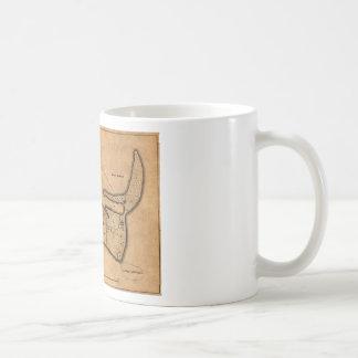 Map of Nantucket 1782 Coffee Mug
