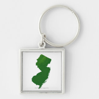 Map of New Jersey 2 Key Ring