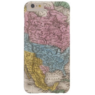 Map of North America 2 Barely There iPhone 6 Plus Case
