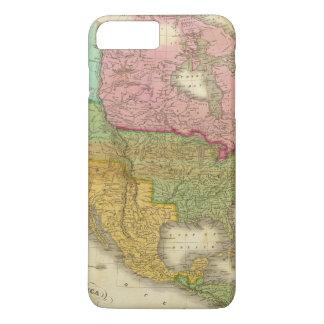 Map of North America 3 iPhone 7 Plus Case