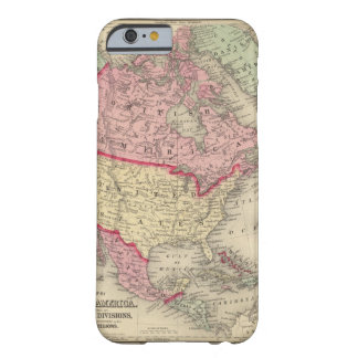Map Of North America Barely There iPhone 6 Case