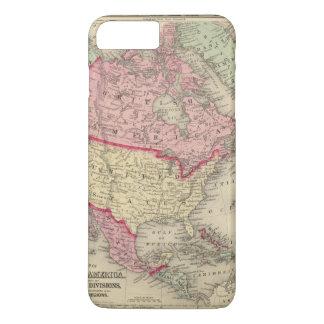 Map Of North America iPhone 7 Plus Case