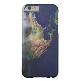 Map of North America with fog Barely There iPhone 6 Case