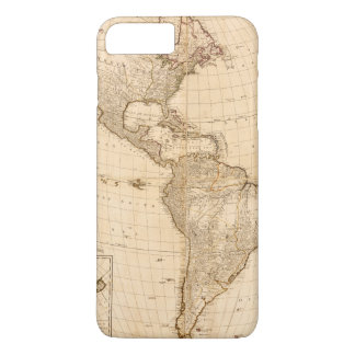 Map of North & South America (1786) iPhone 8 Plus/7 Plus Case