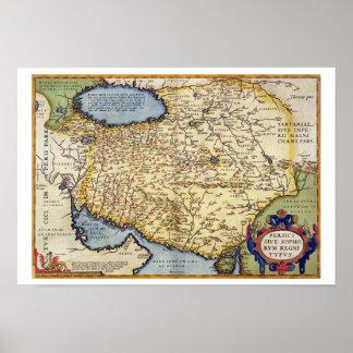 Map of Persia, from the 'Theatrum Orbis Terrarum', Poster