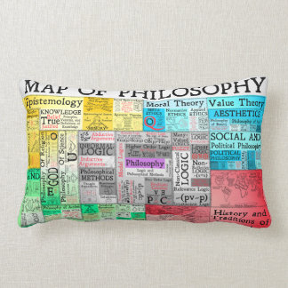 Map of Philosophy Pillow