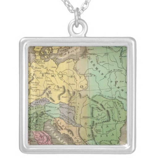 Map of Provinces in Roman Empire Custom Necklace