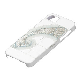 Map of Provincetown Cape Cod Massachusetts Barely There iPhone 5 Case