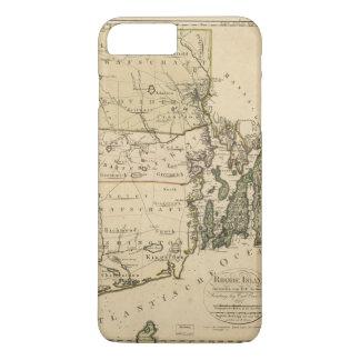 Map of Rhode Island by Carl Ernst Bohn (1797) iPhone 8 Plus/7 Plus Case