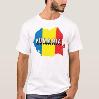 Map Of Romania T-Shirt