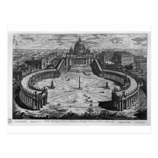 Map of Rome and the Campus Martius Postcard