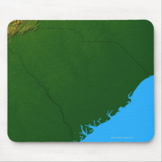 Map of South Carolina 2 Mouse Pad
