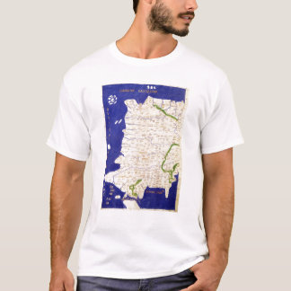 Map of Spain and Portugal, from 'Geographia' T-Shirt