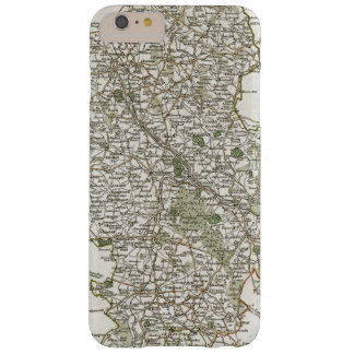 MAP OF STAFFORDSHIRE, 1793 BARELY THERE iPhone 6 PLUS CASE