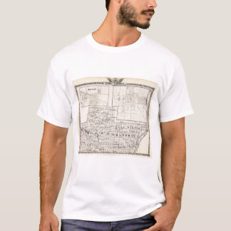 Map of Stark and west part of Marshall counties T-Shirt