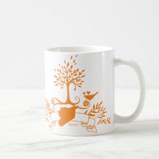Map of Syria -Natural style Coffee Mug