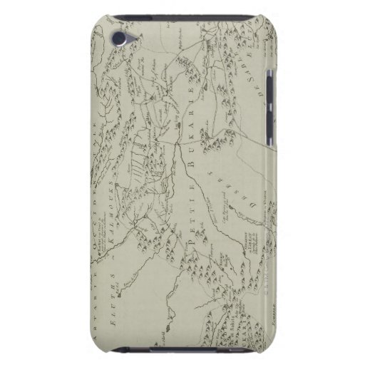 Map of Tartaria in China Barely There iPod Covers