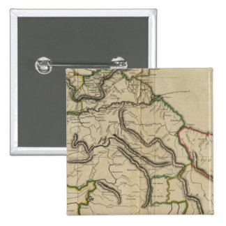Map of the Caracas 15 Cm Square Badge