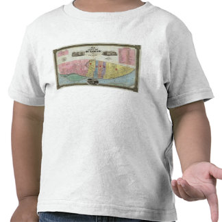 Map of The City of St Louis Shirts