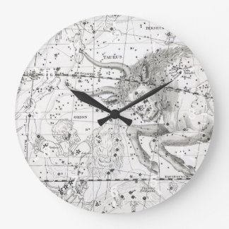 Map of The Constellations Plate XIV Large Clock
