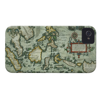 Map of the East Indies, pub. 1635 in Amsterdam (ha Case-Mate iPhone 4 Cases