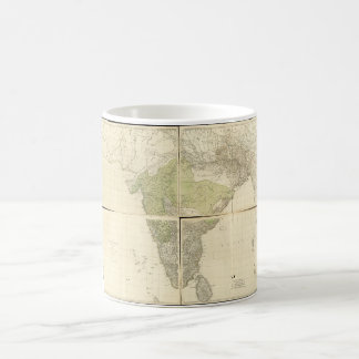Map of the East Indies with the Roads (1768) Coffee Mug