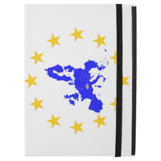 """Map of the European union with star circle iPad Pro 12.9"""" Case"""
