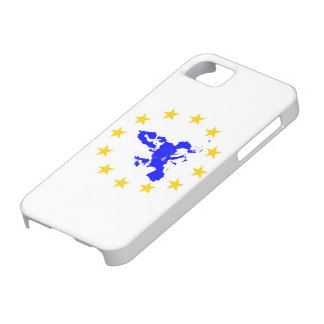Map of the European union with star circle iPhone 5 Cover