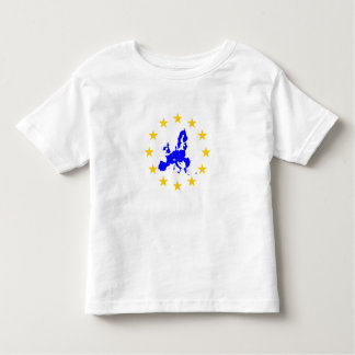 Map of the European union with star circle Toddler T-Shirt