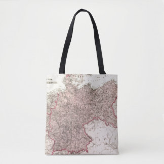 Map of the German Empire Tote Bag