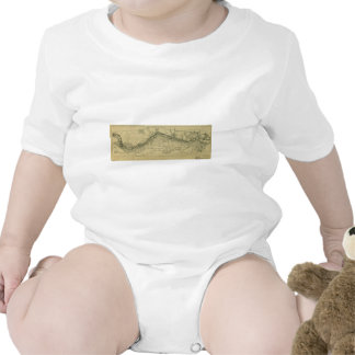 Map of the Great Falls Park (1928) Baby Bodysuit