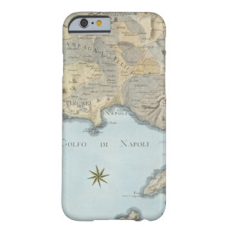 Map of the Gulf of Naples and Surrounding Area Barely There iPhone 6 Case
