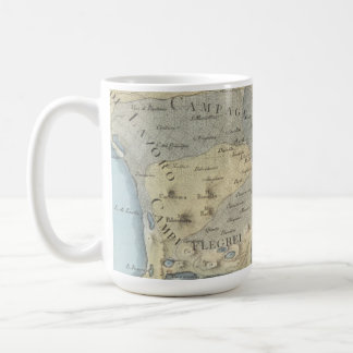 Map of the Gulf of Naples and Surrounding Area Coffee Mug