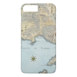 Map of the Gulf of Naples and Surrounding Area iPhone 8 Plus/7 Plus Case