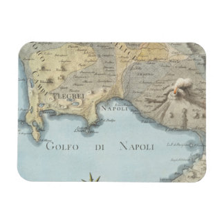Map of the Gulf of Naples and Surrounding Area Magnet