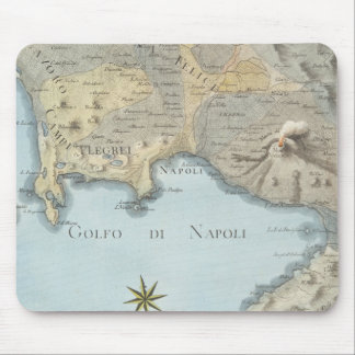 Map of the Gulf of Naples and Surrounding Area Mouse Pad
