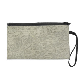 Map of the Holy Land Wristlet Purse