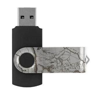 Map of the Missouri Swivel USB 2.0 Flash Drive