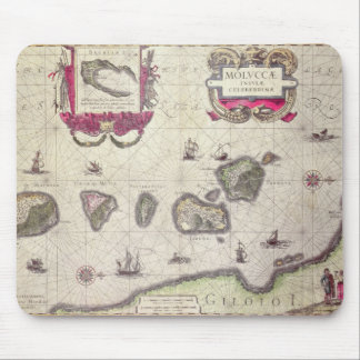 Map of The Moluccan Island, engraved Mouse Pad