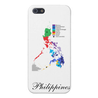 Map of the Philippines - Iphone Case Cover For iPhone 5/5S