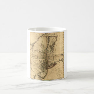 Map of the Province of New York by W. Faden (1776) Coffee Mug